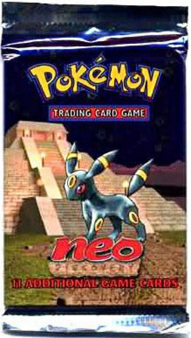 Pokemon Trading Card Game Neo Discovery Booster Pack [11 Cards]