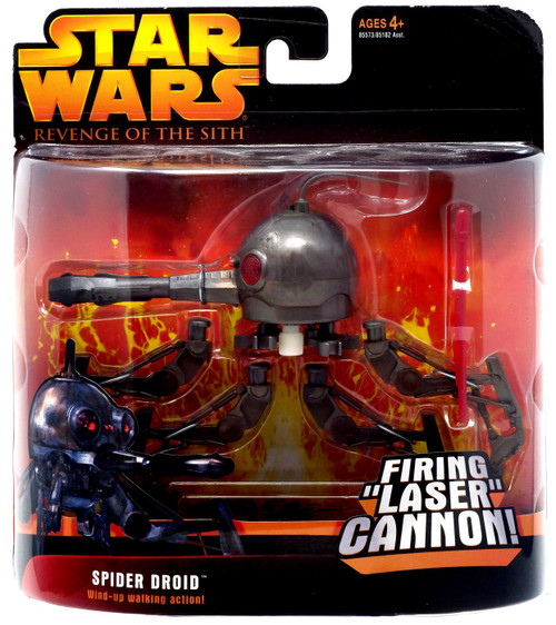 Star Wars Revenge of the Sith Spider Droid Action Figure