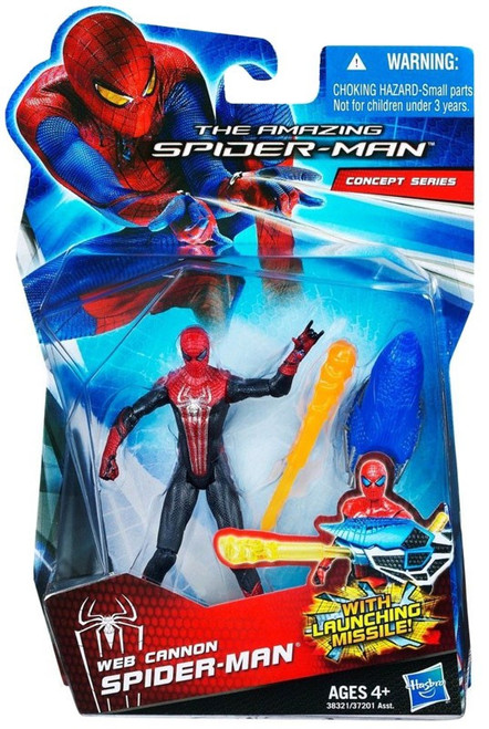 The Amazing Spider-Man Concept Series Web Cannon Spider-Man Action Figure