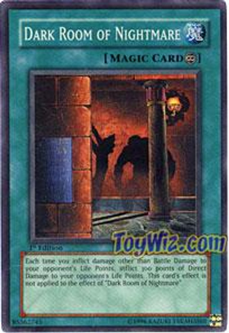 YuGiOh Pharaonic Guardian Super Rare Dark Room of Nightmare PGD-082
