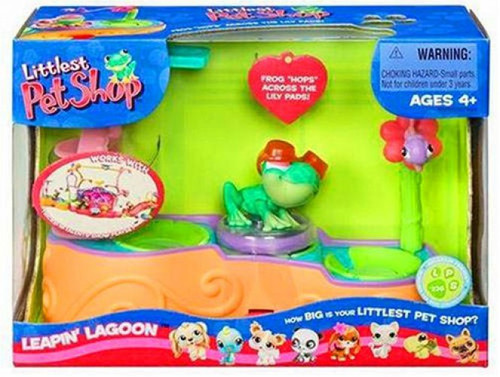Littlest Pet Shop Leapin' Lagoon Playset