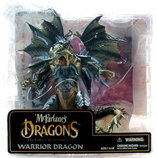 McFarlane Toys Dragons Series 6 Warrior Dragon Clan Action Figure