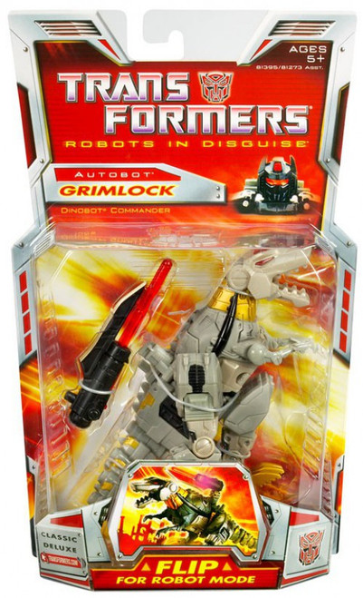 Transformers Robots in Disguise Classics Deluxe Grimlock Deluxe Action Figure