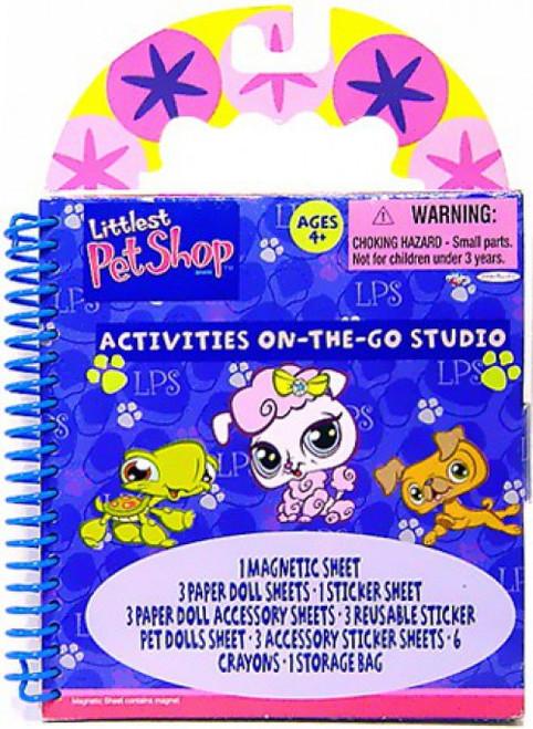 Littlest Pet Shop Activities On the Go Studio Activity Book