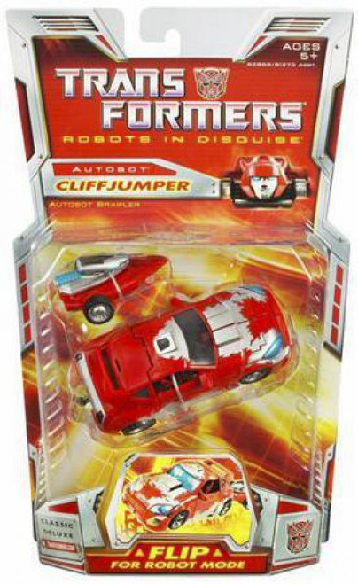 Transformers Robots in Disguise Classics Deluxe Cliffjumper Deluxe Action Figure