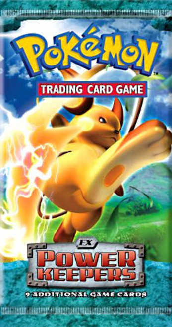 Pokemon Trading Card Game EX Power Keepers Booster Pack [9 Cards]