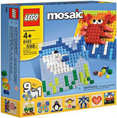 A World of LEGO Mosaics Set #6163