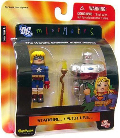 DC Minimates Series 6 Stargirl & S.T.R.I.P.E. Minifigure 2-Pack