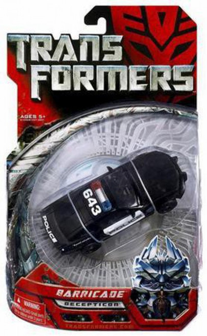 Transformers Movie Barricade Deluxe Action Figure