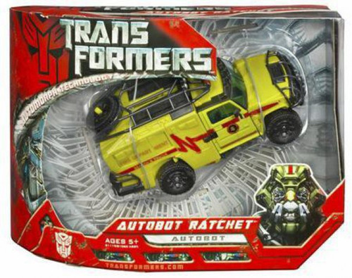 Transformers Movie Autobot Ratchet Voyager Action Figure
