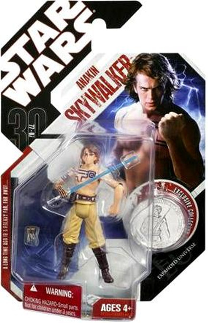 Star Wars Expanded Universe 30th Anniversary 2007 Wave 5 Anakin Skywalker Action Figure #33 [Liberation of the Nelvaanians]