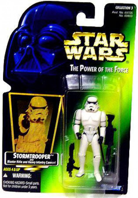Star Wars A New Hope Power of the Force POTF2 Collection 3 Stormtrooper Action Figure [Hologram Card]