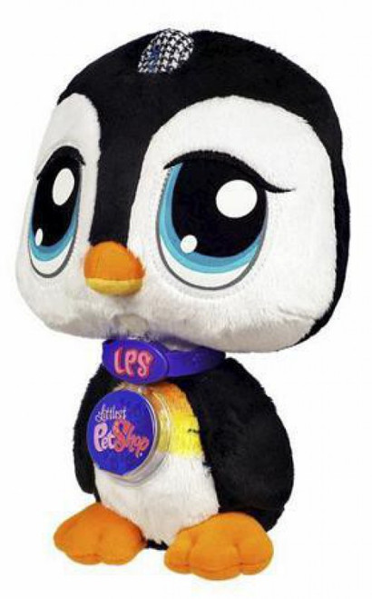 Littlest Pet Shop Virtual Interactive Pet Penguin Plush