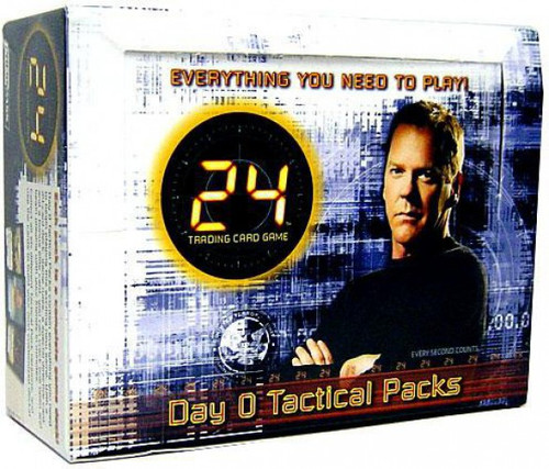 24 Trading Card Game Day 0 Tactical Packs Booster box