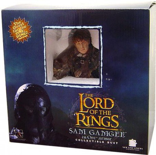 The Lord of the Rings The Return of the King Sam Gamgee Mini Bust [In Mordor Orc Disguise]