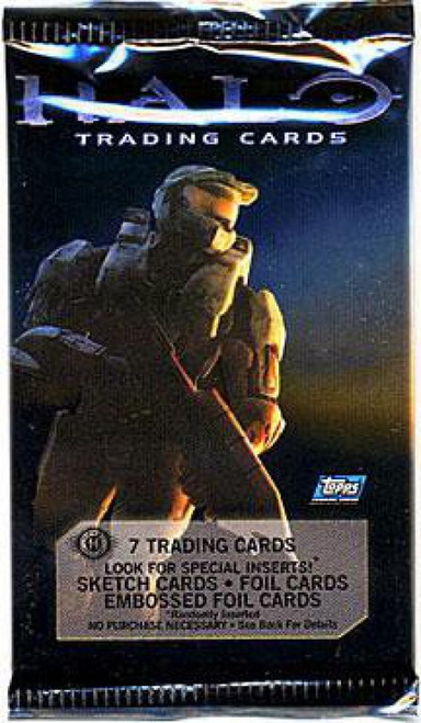 Topps Halo 3 Trading Card Pack