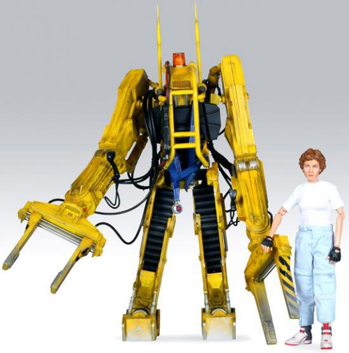 Aliens Movie Masterpiece Power Loader with Ripley Collectible Figure