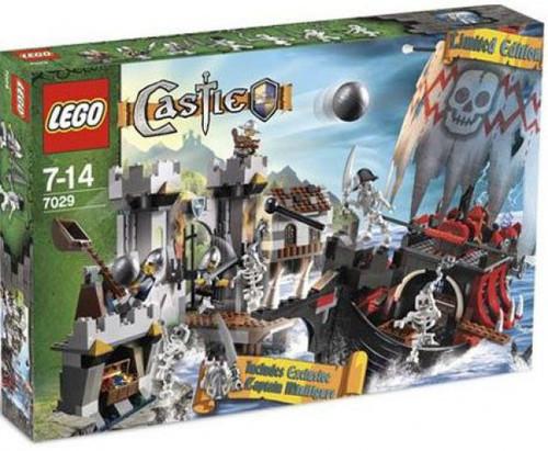 LEGO Castle Skeleton Ship Attack Exclusive Set #7029