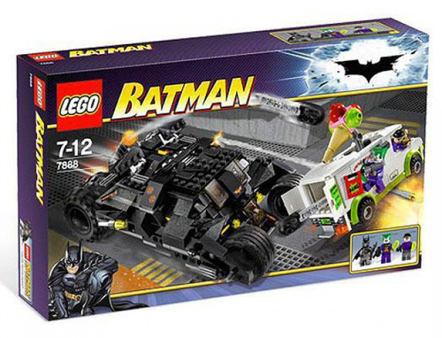 LEGO Batman The Tumbler: Joker's Ice Cream Surprise Set #7888