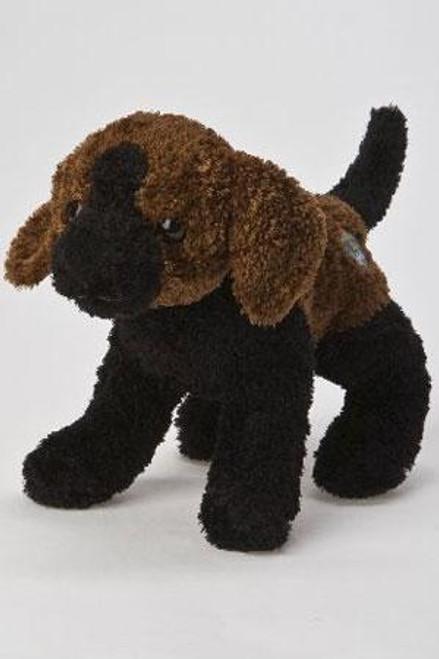 KooKeys Animal Pet Black Dog Plush