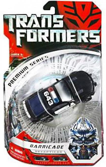 Transformers Movie Premium Series Premium Barricade Deluxe Action Figure