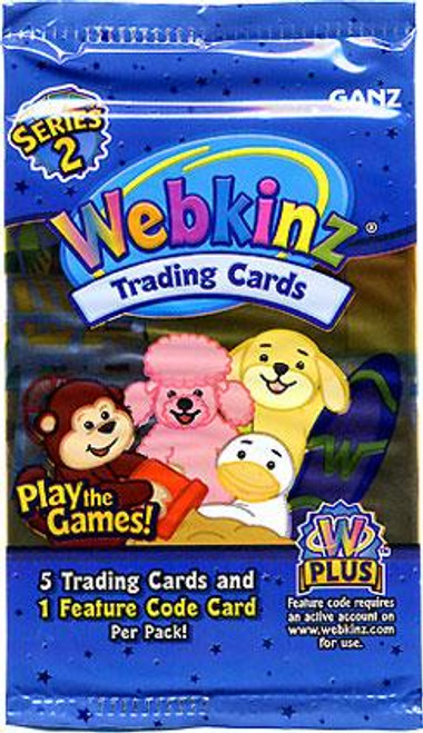 Webkinz RTrading Cards Series 2 Booster Pack [5 Cards & 1 Feature Card]