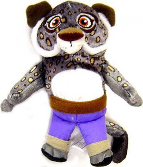 Kung Fu Panda Tai Lung 4-Inch Plush Figure [Young Version]