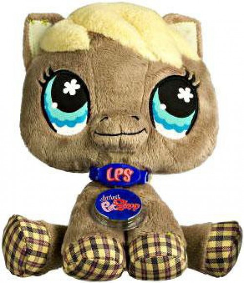 Littlest Pet Shop Virtual Interactive Pet Horse Plush