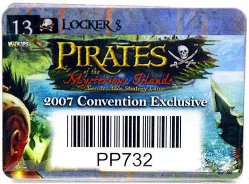 Pirates of the Mysterious Islands Exclusive Code Card