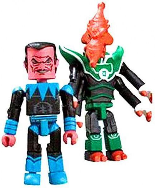 DC Green Lantern Minimates Series 8 Sinestro & Salaak Minifigure 2-Pack
