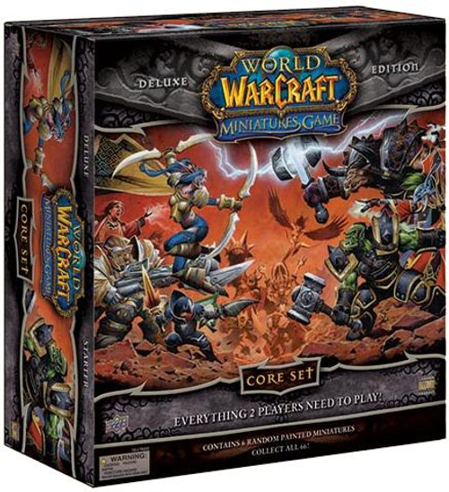 World of Warcraft Miniatures Game Core Set Deluxe Edition 2-Player Starter Set