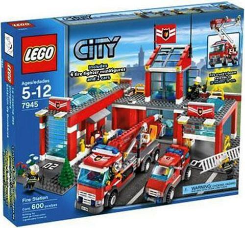 LEGO City Fire Station Set #7945