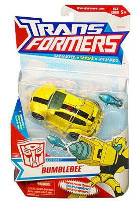 Transformers Animated Bumblebee Deluxe Action Figure