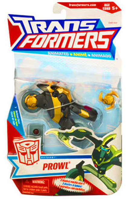 Transformers Animated Prowl Deluxe Action Figure