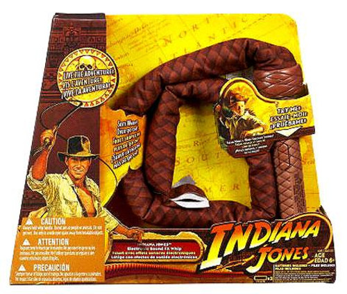 Indiana Jones Sound FX Whip Roleplay Toy