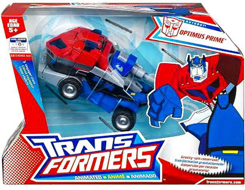 Transformers Animated Voyager Optimus Prime Voyager Action Figure