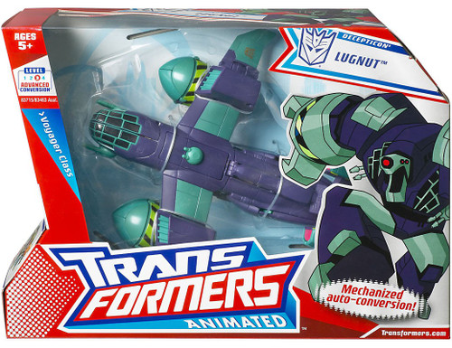 Transformers Animated Voyager Lugnut Voyager Action Figure [Bomber Jet]