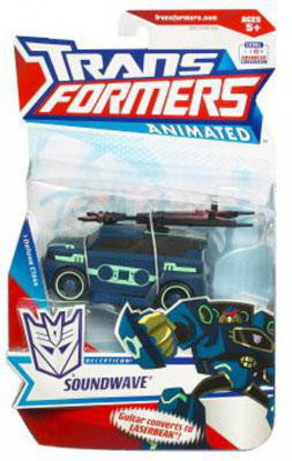 Transformers Animated Soundwave Deluxe Action Figure