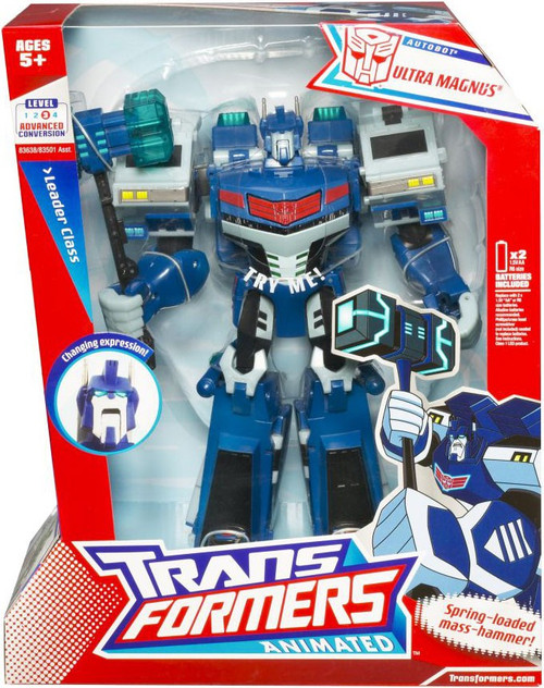 Transformers Animated Leader Class Ultra Magnus Leader Action Figure