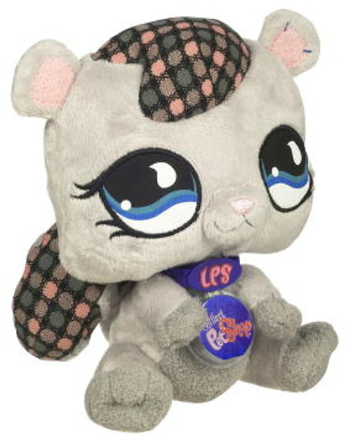 Littlest Pet Shop Virtual Interactive Pet Squirrel Plush