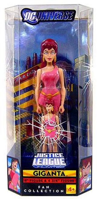 DC Universe Justice League Unlimited Giganta Exclusive Action Figure Set