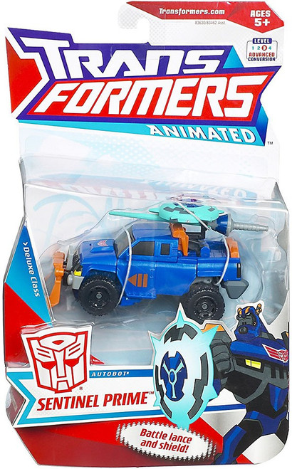 Transformers Animated Sentinel Prime Deluxe Action Figure