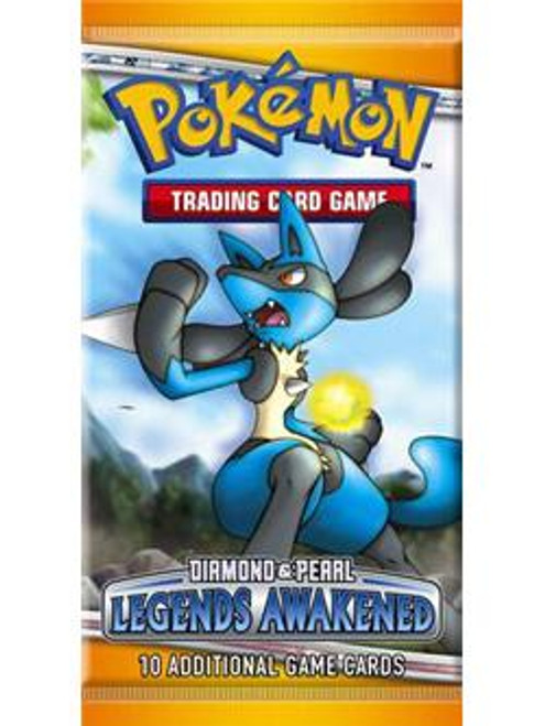 Pokemon Trading Card Game Diamond & Pearl Legends Awakened Booster Pack [10 Cards]