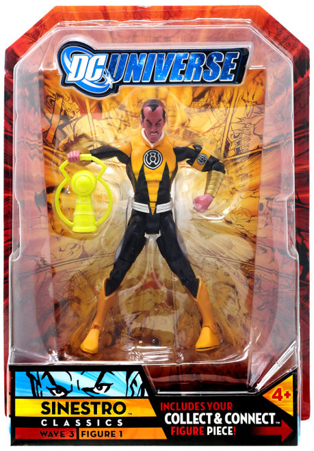 DC Universe Classics Wave 3 Build Solomon Grundy Sinestro Action Figure [Corps Variant]