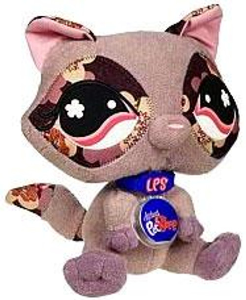 Littlest Pet Shop Virtual Interactive Pet Raccoon Plush