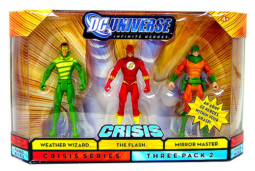 DC Universe Crisis Infinite Heroes Weather Wizard, The Flash & Mirror Master Action Figures #2