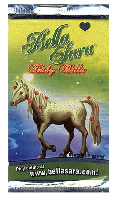 Bella Sara Collectible Card Game Baby Bella Booster Pack [7 Cards]