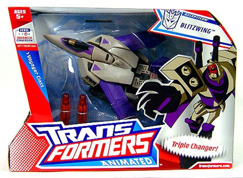 Transformers Animated Blitzwing Voyager Action Figure