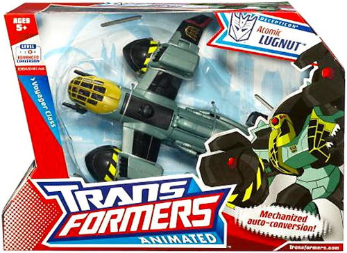 Transformers Animated Atomic Lugnut Voyager Action Figure [Bomber Jet]