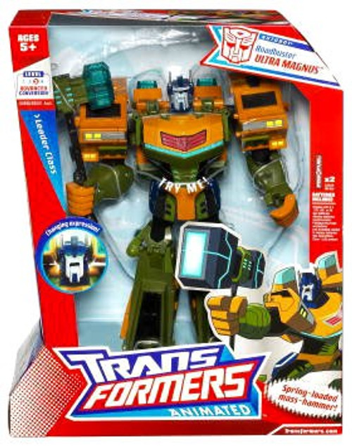 Transformers Animated Roadbuster Ultra Magnus Leader Action Figure